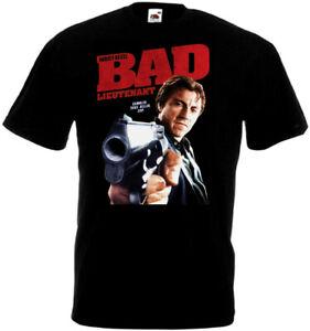 Bad Lieutenant T-shirt black Movie Poster all sizes S...5XL