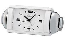 Seiko Contemporary White Alarm Clock QHK027WLH