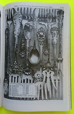 1901 Daniel Low Catalog Jewelry Flatware Sterling Gold Gorham Durgin Salem Witch