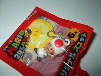 Super Mario 3D World Toad Star Mini Figure Chain Nintendo Official Japan import