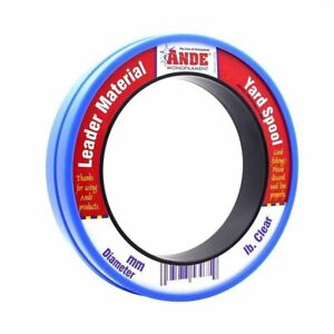 Ande Monofilament Leader - Clear