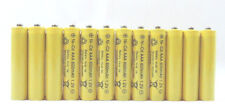 12 pcs Rechargeable NiCd AAA 600mAh Ni-Cad Batteries for Solar-Powered Light B12
