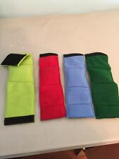 4-MALE DOG BELLY BANDS NO INSERTS LEAK PROOF MIXED COLORS JUST WASH & WEAR