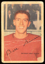 1953 54 PARKHURST #38 BILL DINEEN RC PHOTO OF AL ARBOUR VG-EX DETROIT RED WINGS