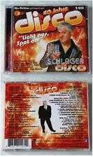 40 JAHRE DISCO Schlager - Benny, Inga & Wolf, Tony,... 39 Track Sony DO-CD TOP