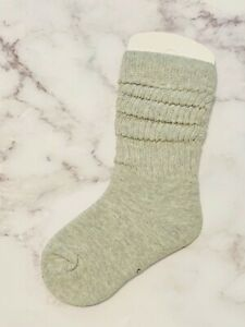 Baby/ Toddler/ Kids Slouch Socks 1 Pair- (White/Grey/Black/Blue/Purple/Burgundy)
