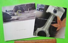 1997 Mercedes Benz C-CLASS Huge DOUBLE Brochure COLOR CHIPS 108-pgs C280 & C230