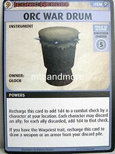 Pathfinder Adventure Card Game - 1x Orc War Drum Boon Card -  Iconic Heroes #5