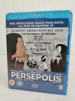 BRAND NEW & SEALED | Persepolis | Blu Ray | Animation | Graphic Novel | Iranian