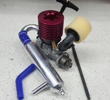 Thunder Tiger .28 Pro 1/8 Nitro Engine Motor MTA4 W/ Exhaust Pullstart Roto OZRC