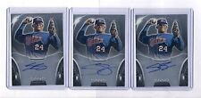 (2) MIGUEL SANO 2013 BOWMAN STERLING ROOKIE RC AUTO TWINS LOT