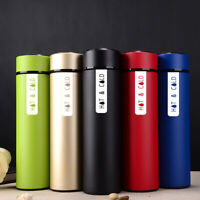 HOT & COLD Stainless Steel Bottle Thermos Coffee Tea Fruit Infuser Drink Bottle