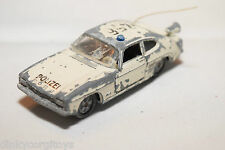 SIKU V310 V 310 FORD CAPRI 1700 GT POLIZEI WHITE GOOD CONDITION