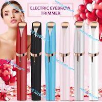 Electric Brows-Eyebrow Facial Hair Remover Discreet Pain-Free Epilator-Trimmer
