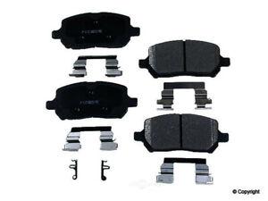 Disc Brake Pad Set-Meyle Semi Metallic Front WD Express 520 09560 503