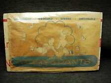Antique Goodyear Dricote Baby Pants New Old Stock In Package
