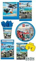 LEGO CITY PARTY RANGE (Partyware/Decorations)