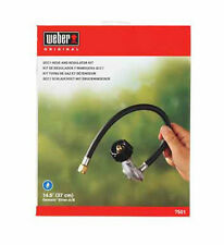 Weber Grill 7501 QCC1 Fitting Hose and Regulator Genesis Silver A & B series