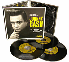 JOHNNY CASH CD x 3 The Real Johnny Cash Ultimate Best Of Collection NEW Digipack