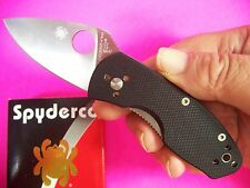 SPYDERCO - Ambitious G-10 Wide-Blade compact folding lock-blade EDC knife C148GP