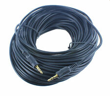 75FT Gold Plated 3.5mm M/M Stereo Audio Cords Cables for PC iPod mp3(3S11-7