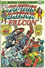 Captain America # 181 Jan 1975 Marvel The Falcon Nomad Intro New Cap