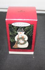 Hallmark Christmas Snowman Marjolein Bastin Keepsake Ornament Christmas 1996