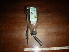 Oasis Heavy Duty Glass All Purpose Pet Water Bottle 32 Fl Oz w/ Mounting Bracket