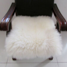 Artificial Wool Fluffy Area Rugs Soft Car Chair Seat Cushion Window Mat#4