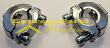 "Aluminum Handlebar Riser Kit 7/8"" Bars Motorcycle ATV Dirt Bike. USA!"
