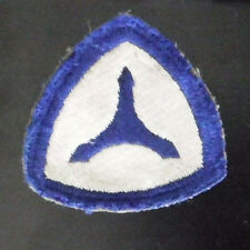 WW2 US Army 3rd Service Command Military Patch Very Old