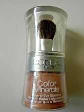 L'Oreal - Colour Minerals Eye Shadow - 03 Desert Shimmer