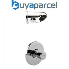 Timed Non Concussive Concealed Shower Valve Self Closing + Anti Vandal Head