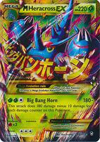 Mega M Heracross-EX Ultra Secret Rare Holo Pokemon Card XY3 Furious Fist 112/111