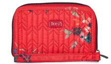 LUG RODEO SMALL WALLET WRISTLET BOUQUET RED NWTS FREE SHIP TONS OF LUG 4 SALE