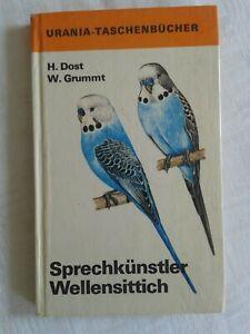 Sprechkünstler Wellensittich, Fachbuch 1962, Urania-Taschenbuch