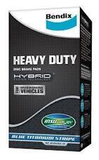 Hyundai iLoad 2.4L 2.5L 07 Onwards Front Bendix Heavy Duty Brake Pads DB1940HD