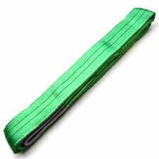 3M x 60mm 2 Ton Lifting / Towing Webbing Sling Recovery Strap Rope TE322