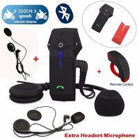 Brand COLO-RC 1000m Motorrad Bluetooth Intercom Sprechfernbedienung + 2 Headset