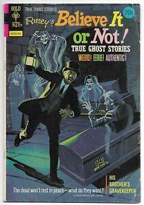 Ripley's Believe It or Not #45 (Gold Key, 1974) – True Ghost Stories – VG/FN