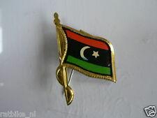PINS,SPELDJES 50'S/60'S COUNTRY FLAGS 48 LIBYA VINTAGE VERY OLD VLAG