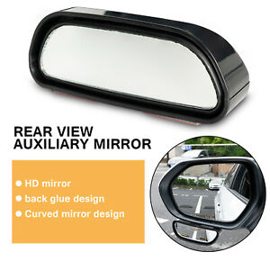 Blind Spot Mirror 360° Wide Angle Convex Rear Side View Auto Car Truck Stick on