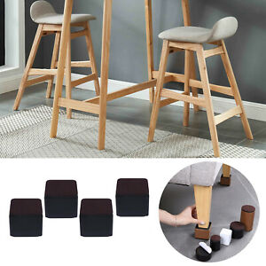 Set of 4 Multifunction Bed Risers Solid Desk Sofa Feet for Home Office