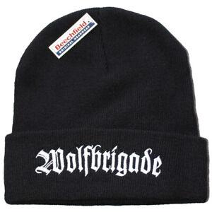 WOLFBRIGADE Beanie Hat Cap Mütze Disfear/Tragedy/Victims/Martyrdöd/Skitsystem
