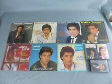 Lot FREDERIC FRANCOIS 7 vinyles 45 tours + 3 cassettes audios