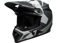 Casque Motocross BELL MX-9 MIPS Seven Battleship Noir / Blanc / Gris