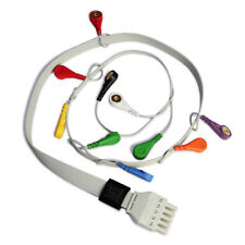 ECG Cable 10 lead ECG/EKG Holter Cable for CONTEC TLC5000 Dynamic ECG holter,NEW