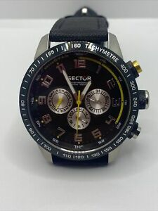 Sector Men's R3251575001 Racing 850 Analog Stainless Steel Watch
