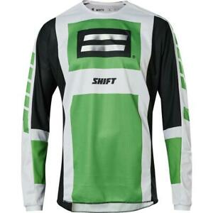Shift White Label Archival Motocross Jersey SE - Green, Size Extra-Large
