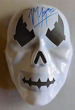 Manik TJ Perkins Autographed TNA Toy Mask NEW wrestlers wwe party Costume